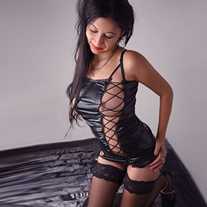 Evita - AFT Sex Affair With Escort Teen In Erotic Lingerie