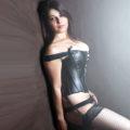 Gerri - Single Ladie In Suspenders Offers Sex With Facial Cum