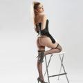 Merilin - Delicate Ladie In Erotic Corset Sex Right Away